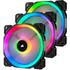 Corsair Ventilateur LL120 RGB PWM Pack de 3