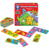 Orchard Toys Mini Game - Dinosaur Dominoes