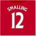 2016-2017 Man United Canvas Print (Smalling 12)