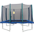 Big Air 7x10ft Rectangular Trampoline With Safety Enclosure