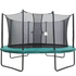 Velocity 8x12ft Powder Coated Oval Trampoline With Safety Enclosure