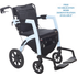 Rollz Motion Rollator/Wheelchair