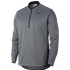 Nike Half Zip Therma Top - Grey Small