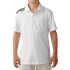 Adidas Boys Climacool 3 Stripes Polo - White