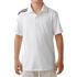 Adidas Boys Climacool 3 Stripes Polo - White