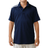 Adidas Boys Climacool 3 Stripes Polo - Navy