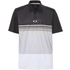 Oakley Color Block Take Polo Shirt - Blackout Mens Small