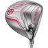 Cobra King F7 Ti Womens Driver - Silver / Pink; Right Hand / Fujikura Pro 50 / Ladies