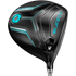 Cobra King F7 Ti Womens Driver - Black / Blue; Right Hand / Fujikura Pro 50 / Ladies