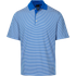 Greg Norman Bar Stripe Polo - Maritime Blue - S
