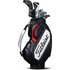 Titleist Mid-Size Staff Cart Bag - Black / White / Red
