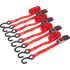 Sealey Ratchet Tie Downs Polyester Webbing 25mm 4m 800kg