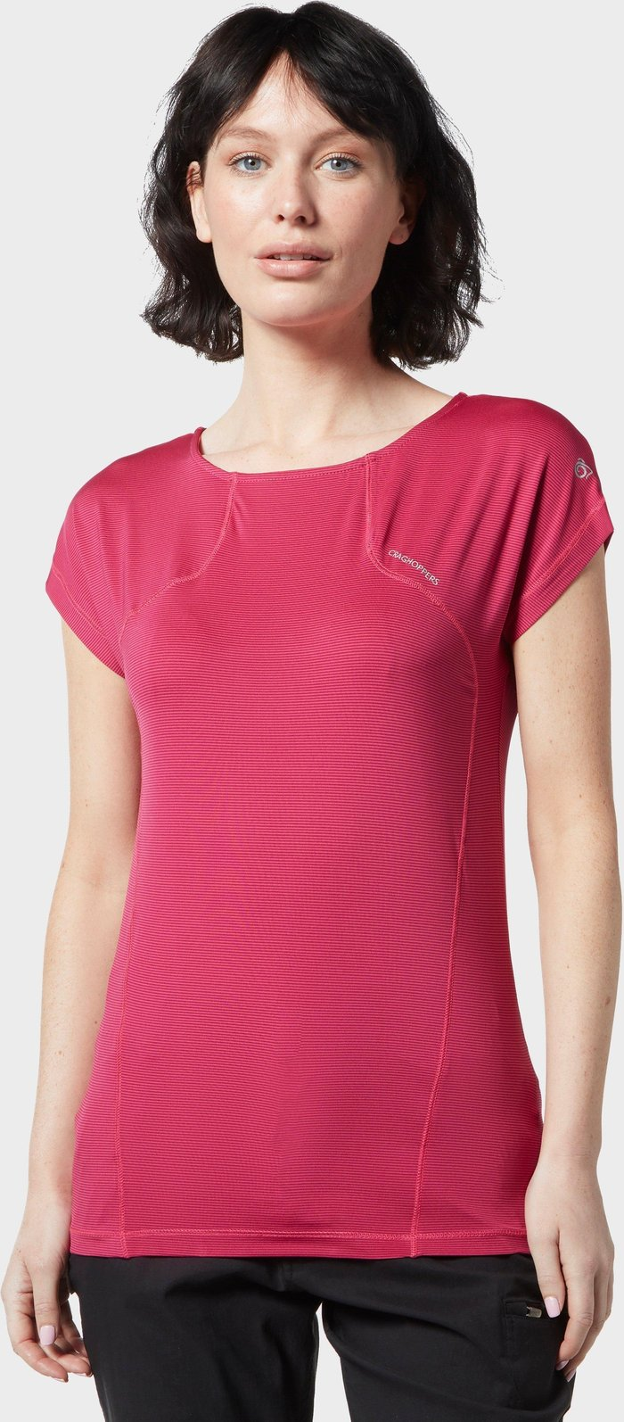 Craghoppers Women's Fusion T-Shirt, Pink/PNK