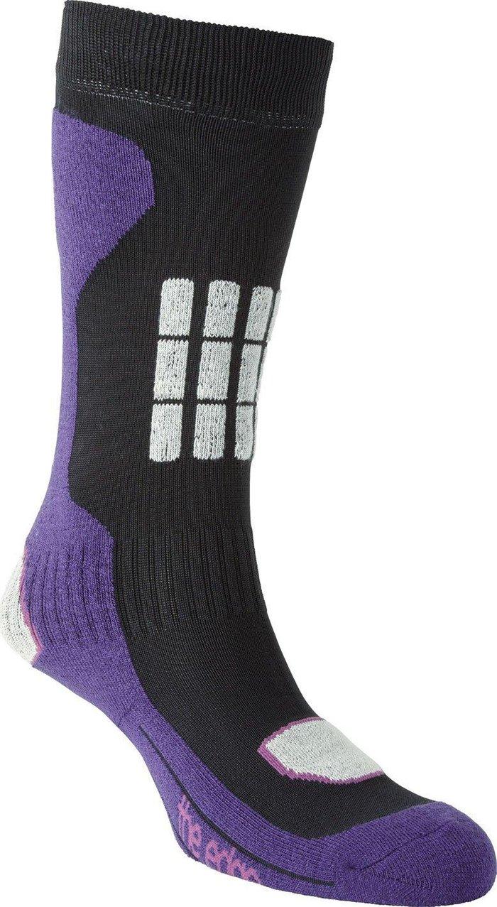 The Edge Kids' Hakuba Comfort Socks, ROYAL PURPLE/KIDS
