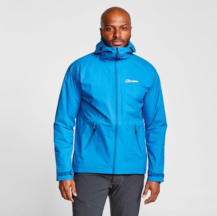 Berghaus Men's Stormcloud Jacket, Blue/Blue