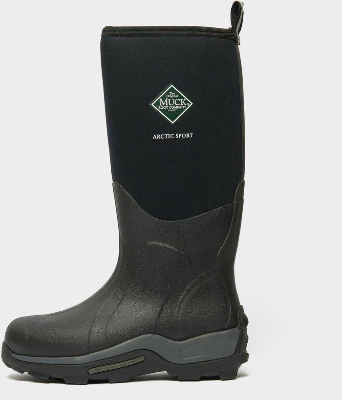 Muck Boot Men's Arctic Sport Tall Boots, Black/Black