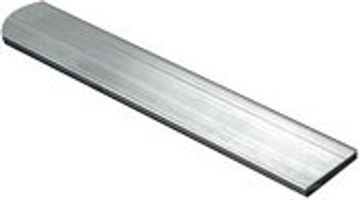 FFA Concept FFA Concept Silver effect Aluminium Flat Sheet  (H)2000mm (W)30mm (T)2mm