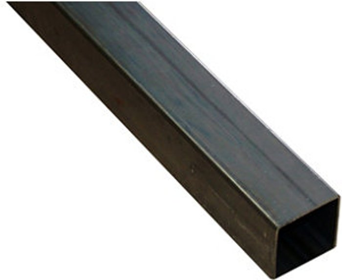 FFA Concept FFA Concept Varnished Cold-rolled steel Square Tube  (L)1m (W)14mm (T)1mm