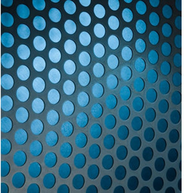 FFA Concept FFA Concept Silver effect Steel Embossed Sheet  (H)500mm (W)500mm (T)1mm