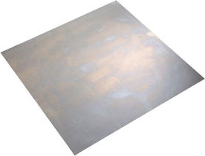 FFA Concept FFA Concept Silver effect Steel Sheet  (H)500mm (W)500mm (T)1mm