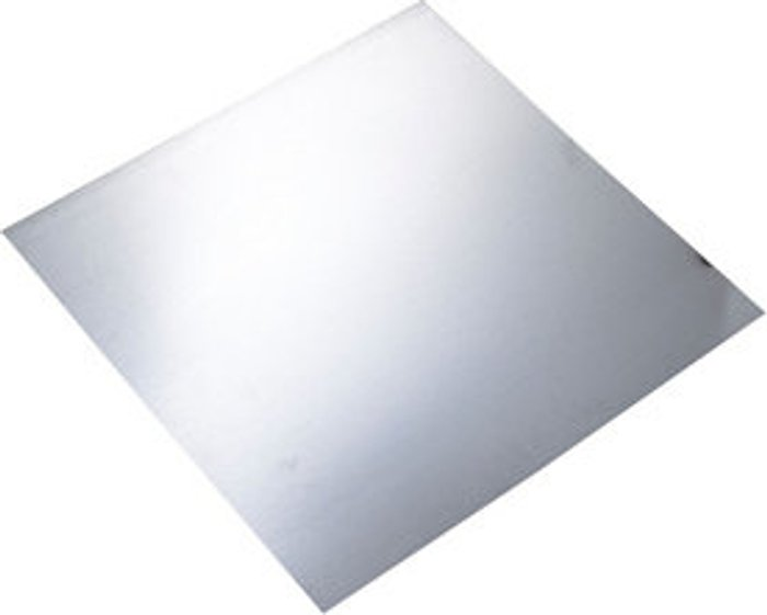 FFA Concept FFA Concept Silver effect Galvanised Steel Sheet  (H)500mm (W)500mm (T)1mm