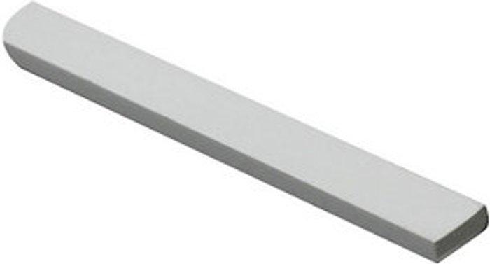 FFA Concept White Polyvinyl chloride (PVC) Flat Bar  (L)1000mm (W)30mm