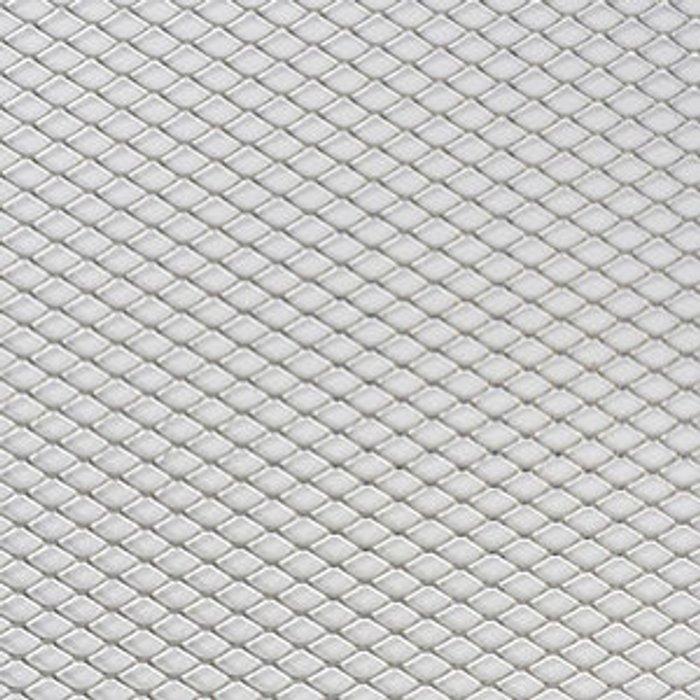 FFA Concept FFA Concept Silver effect Aluminium Sheet  (H)500mm (W)500mm (T)1mm