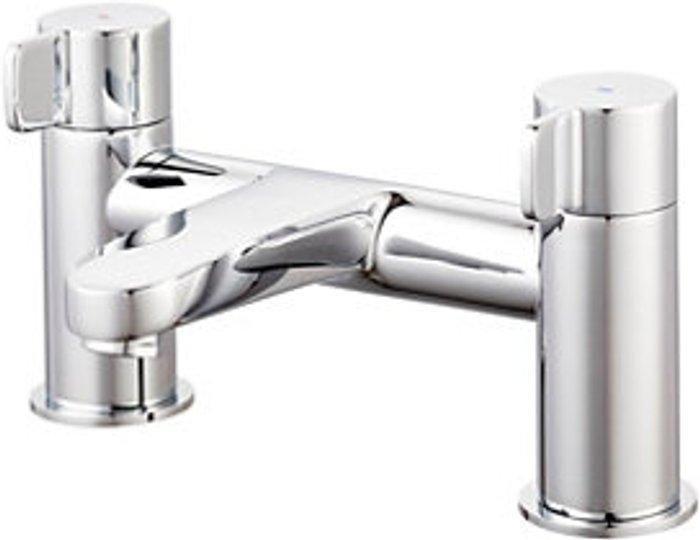 GoodHome GoodHome Cavally Chrome effect Bath Filler Tap