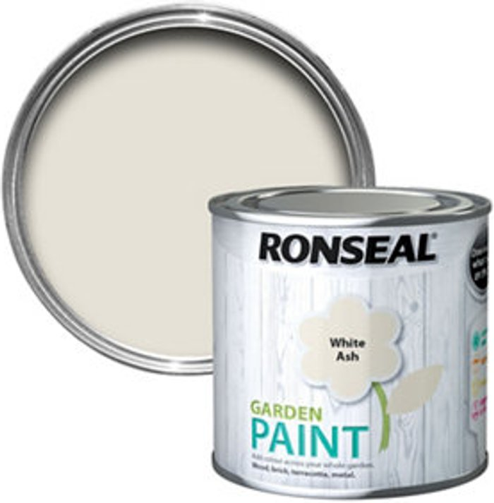 Ronseal Ronseal Garden White ash Matt Metal & wood paint  250
