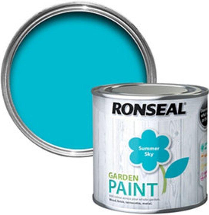Ronseal Ronseal Garden Summer sky Matt Metal & wood paint  250