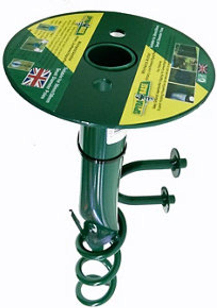 SpyraBase SpyraBase Green Steel Ground anchor (W)38mm