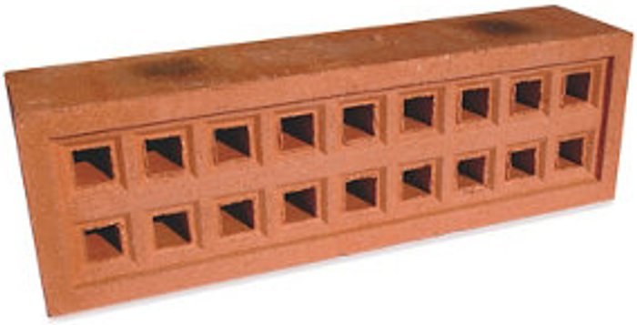 Expamet Expamet Red Air brick (L)215mm (W)50mm (H)65mm  Pack of 3