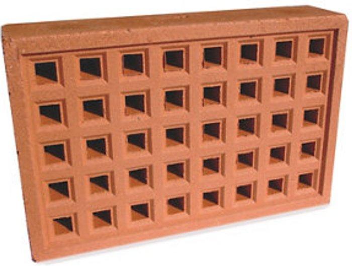 Expamet Expamet Red Air brick (L)215mm (W)50mm (H)140mm  Pack of 2