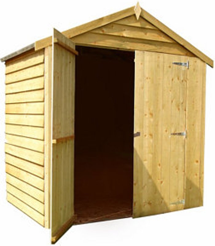 Shire 6x4 Apex Overlap Shed