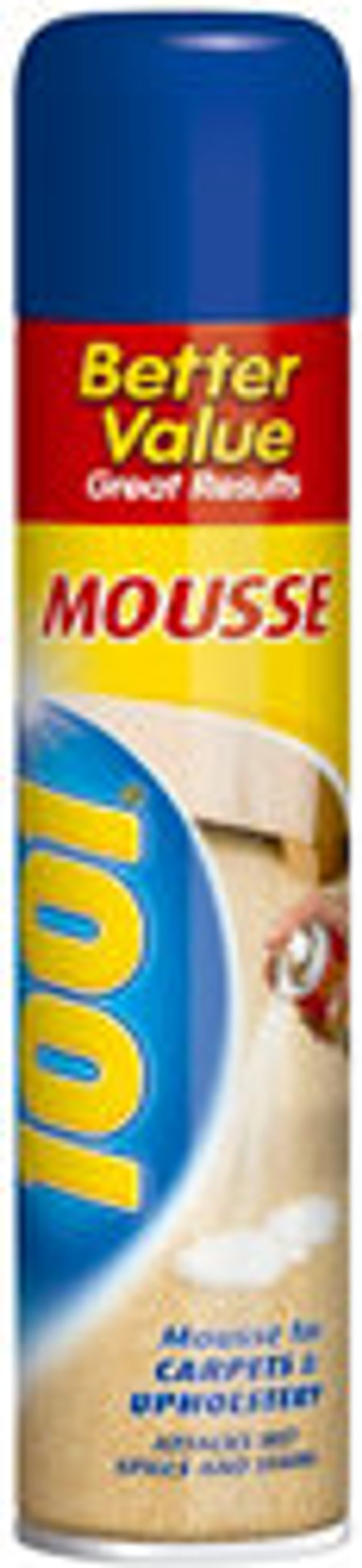 1001 1001 Unscented Carpet & upholstery shampoo  350ml