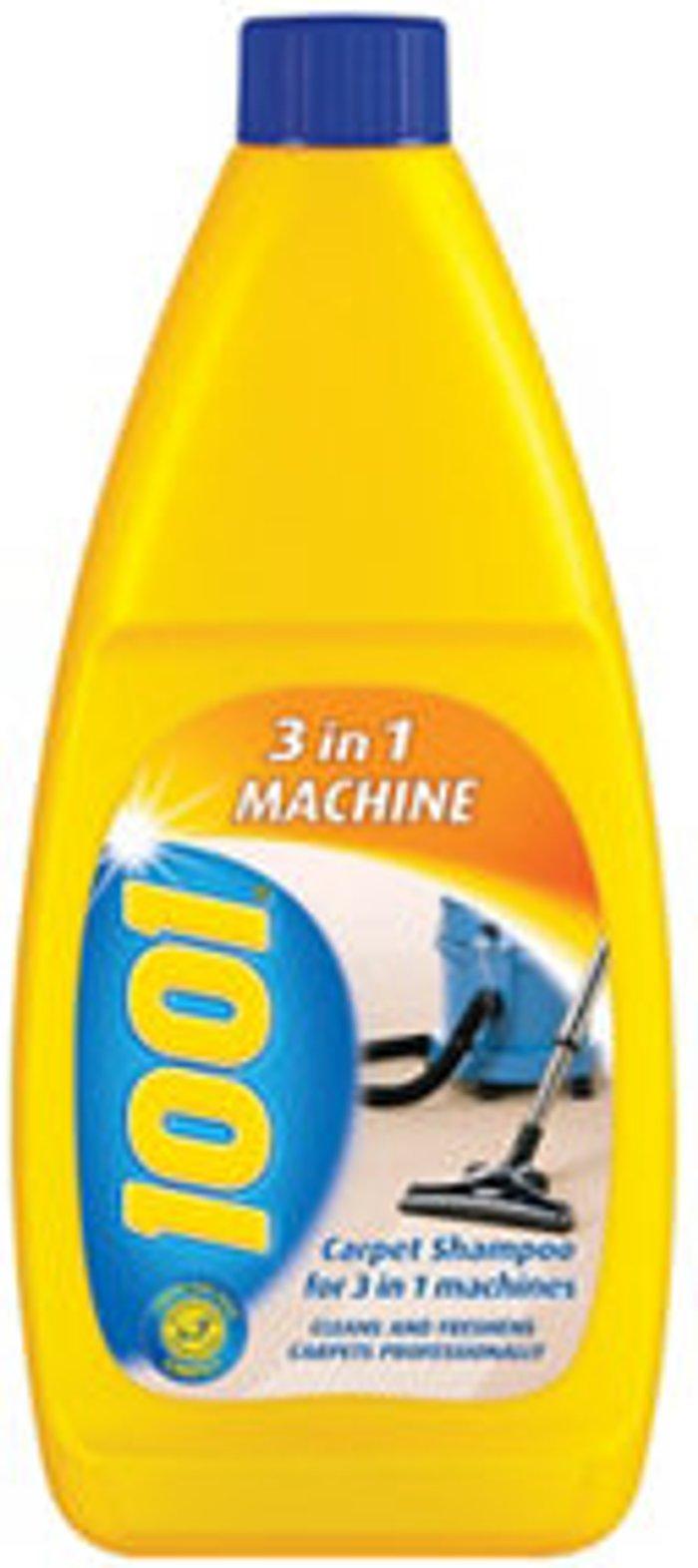 1001 3 in 1 Machine Unscented Carpet shampoo