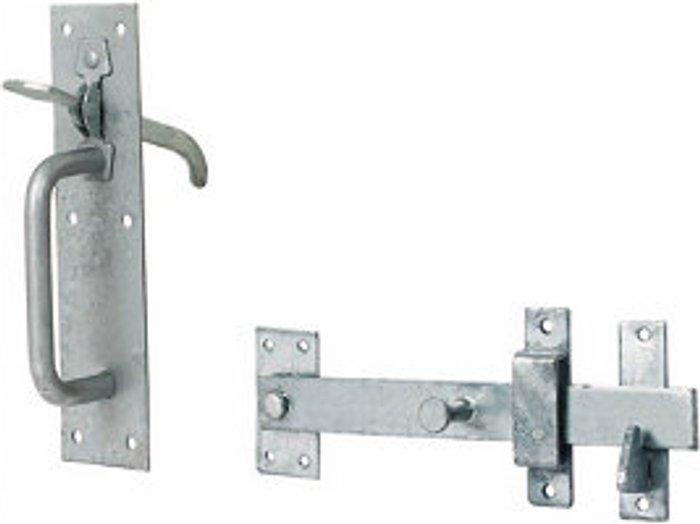 Steel Gate latch  (L)205mm