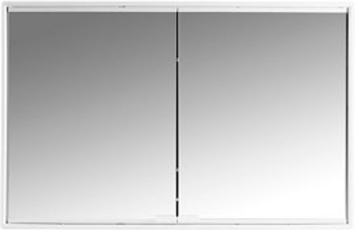 Alcudina White Mirrored Cabinet (W)581mm (H)376mm
