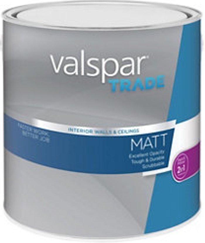 Valspar Trade Valspar Trade Base A Matt Paint base 2.5L
