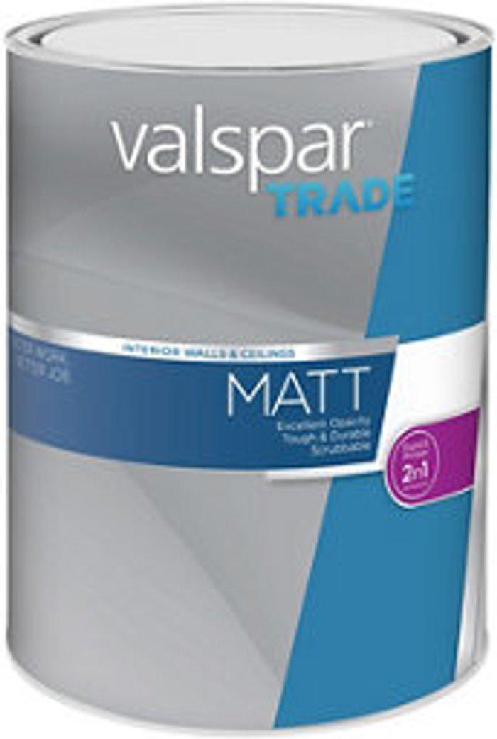 Valspar Trade Valspar Trade Base A Matt Paint base 5L