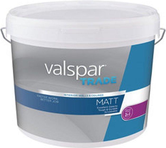 Valspar Trade Valspar Trade Base A Matt Paint base 10L