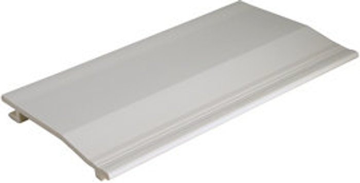FloPlast Smooth White PVCu Cladding (W)150mm (T)19mm  Pack