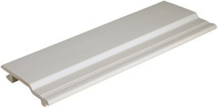 FloPlast Smooth White PVCu Cladding (W)100mm (T)19mm  Pack
