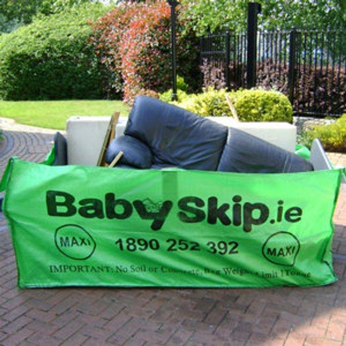 Babyskip Babyskip Green Rubble bag