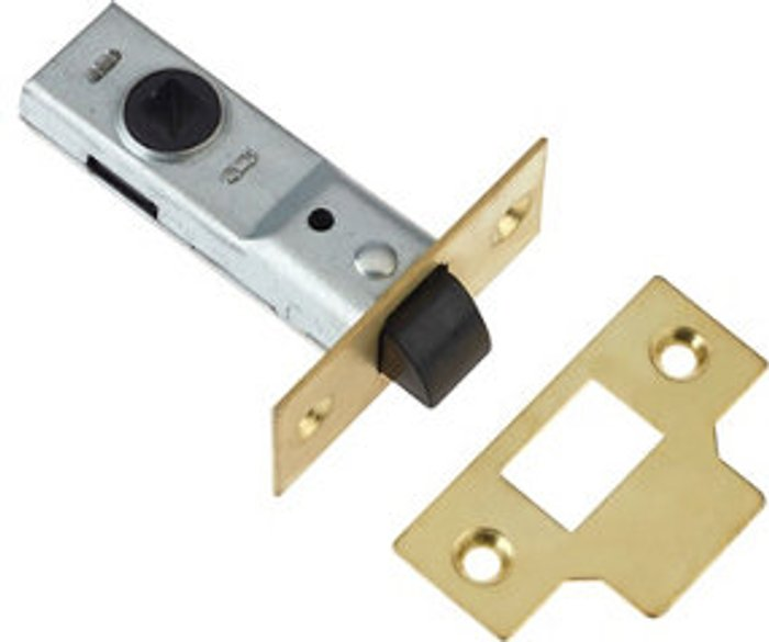 Diall Diall Brass Tubular Mortice latch (L)170mm