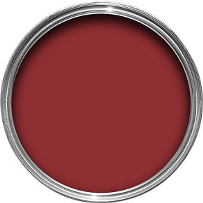 Colours Colours Classic red Gloss Metal & wood paint  0.75