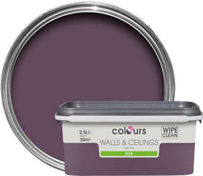 Colours SKIP19B COLOURS STANDARD SILK EMULSION