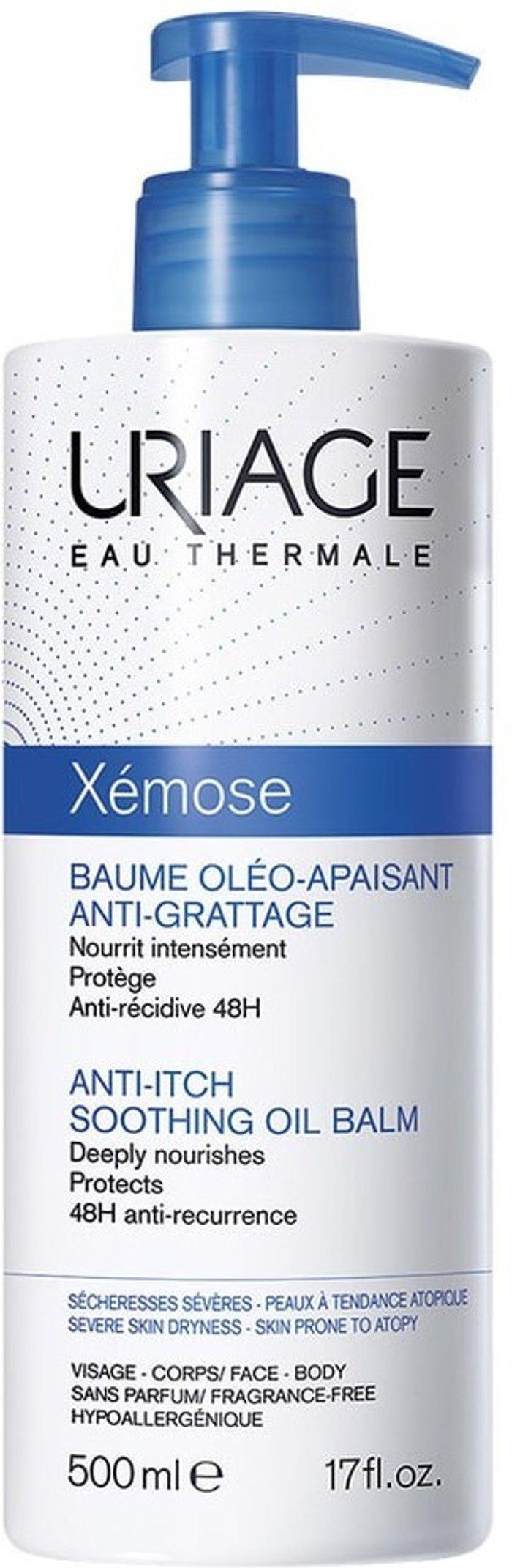 Uriage Uriage Xemose Anti-Itch Soothing Oil Balm (500ml)