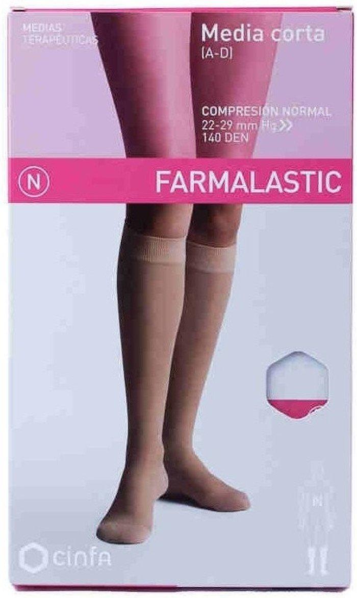 Farmalastic Farmalastic Socks Normal Compression A-D Beige