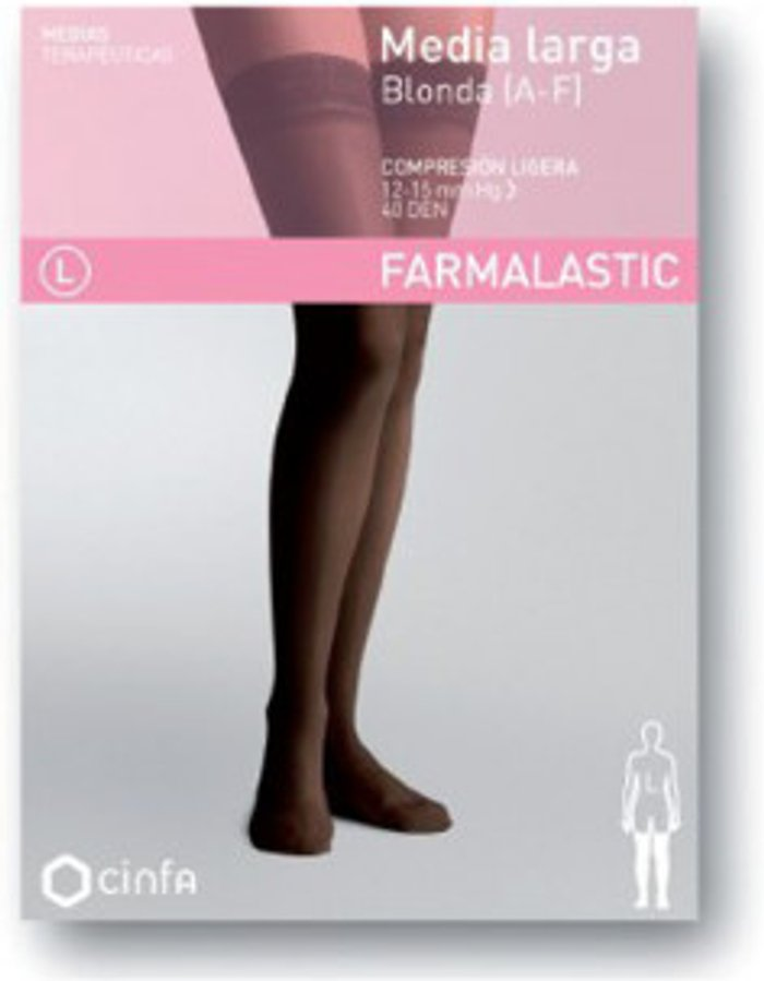 Farmalastic Farmalastic Hold-ups 40 DEN Low Compression Blonda A-F Mink